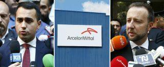 """Ex Ilva, la cassa integrazione scatterà il 1° luglio. E ArcelorMittal parla già di una possibile proroga. Di Maio: """"Sono stufo"""""""