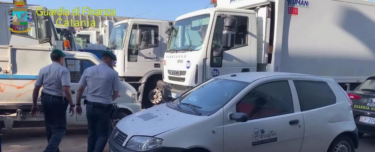 Appalti truccati sui rifiuti: quattro arresti nel Catanese. C'è anche il sindaco