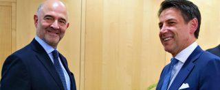 """Lettera all'Ue, Moscovici: """"Non si discuta su regole"""". Conte: """"Ddl assestamento certificherà il miglioramento dei conti"""""""
