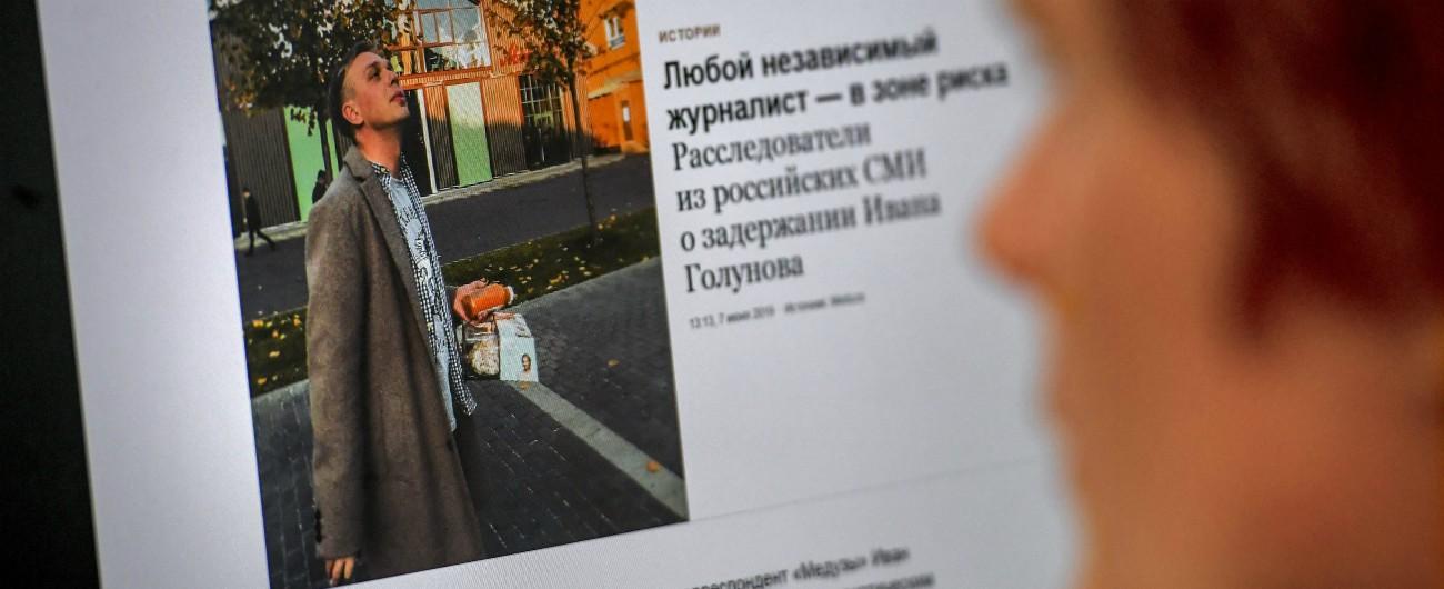 """Ivan Golunov, giornalista anticorruzione arrestato in Russia: """"Ricoverato con sospetta commozione cerebrale"""""""