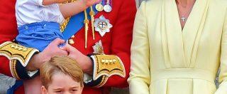 Trooping the Colour 2019, il debutto del principino Louis a Buckingham Palace è uno show: le immagini