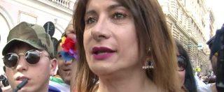 """Roma Pride, migliaia di persone in corteo per diritti lgbt. Luxuria: """"Oggi orgogliosi di restare umani"""""""