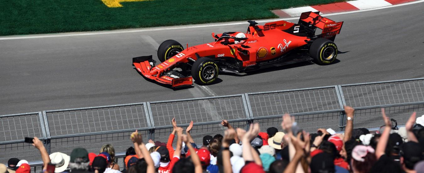 """Formula 1, Gp Canada: Vettel primo ma penalizzato. La vittoria va a Hamilton. Il tedesco furioso: """"Una decisione assurda"""""""