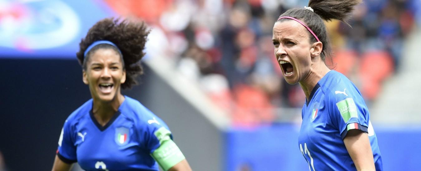 Mondiali di calcio femminile, l'Italia vince all'esordio con l'Australia: finisce 2 a 1