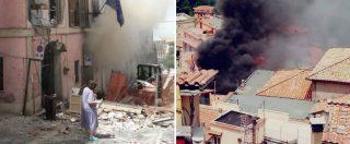 Roma, esplosione nel palazzo del Comune di Rocca di Papa: feriti, anche 3 bambini. Grave il sindaco: ustioni a volto e braccia