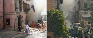 Roma, esplosione nel palazzo del Comune di Rocca di Papa: crolla la facciata. Le prime immagini