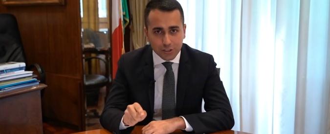 """Governo, Di Maio: """"Pieno mandato a Conte e Tria. No a manovre correttive, flat tax avrà tetto di 60-70mila euro"""""""
