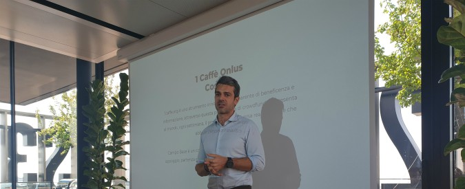 Together for Children, Kia e 1 Caffè Onlus insieme per i bambini. Il testimonial è Luca Argentero