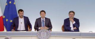 """Conte: """"Pieno mandato? Certo, altrimenti mi dimetterei"""". Salvini: """"Questo era e rimane governo del cambiamento"""""""
