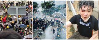 Hong Kong, manifestanti sfondano cordone della polizia ed entrano nel Parlamento: la risposta col lancio di lacrimogeni