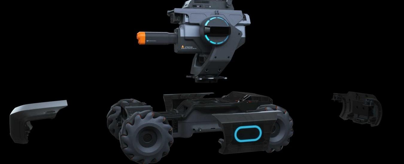RoboMaster S1 è il primo robot educativo di DJI che insegna a programmare giocando