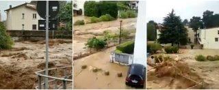 Lecco, esondati torrenti in Valsassina dopo i violenti temporali. Strade come fiumi in piena: disagi e danni ingenti