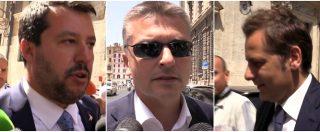 """Lega, Salvini su Arata: """"Non è mio consulente"""". Sentenza Garavaglia: lui tace, mentre Rixi dice: """"Dimissioni? Vedrà lui"""""""