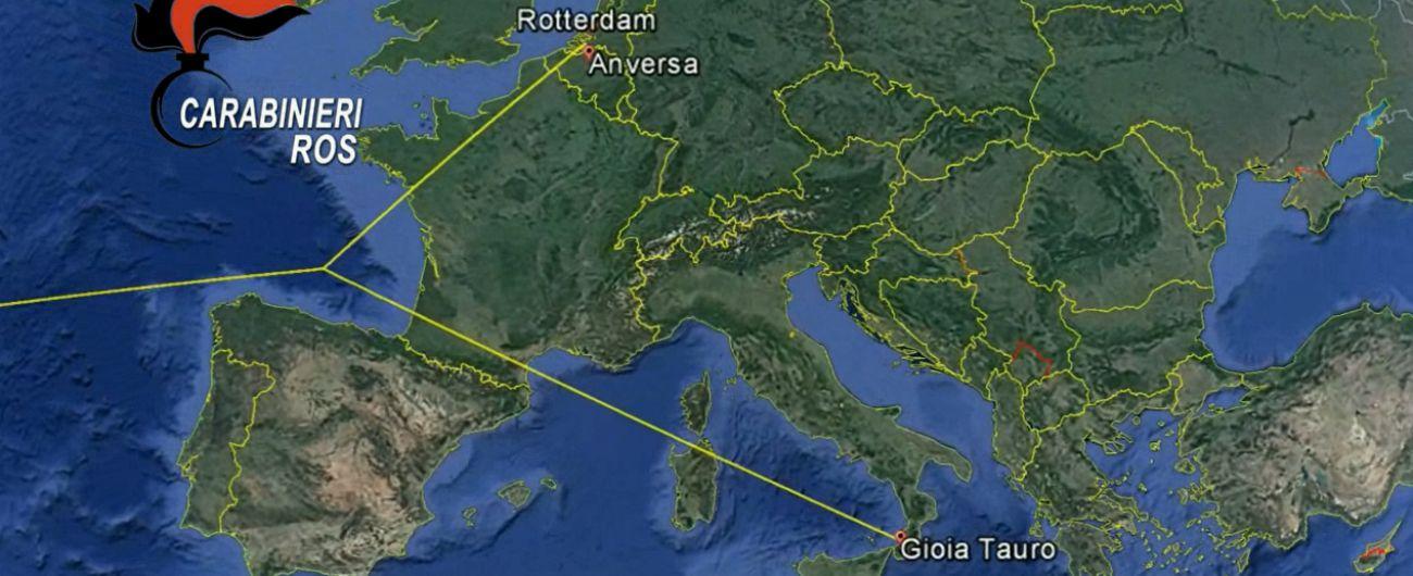 'Ndrangheta, non solo Gioia Tauro: i porti d'Europa per la droga delle cosche. Blitz del Ros con 30 arresti
