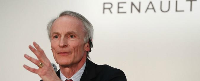 """Renault, il presidente Senard: """"Il progetto di fusione con Fca non esiste più"""""""