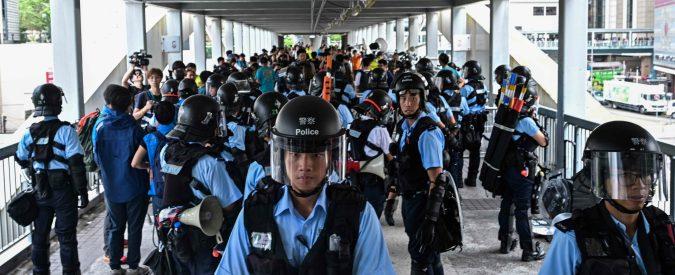 Hong Kong, gli scontri rischiano di complicare la contesa tra Usa e Cina