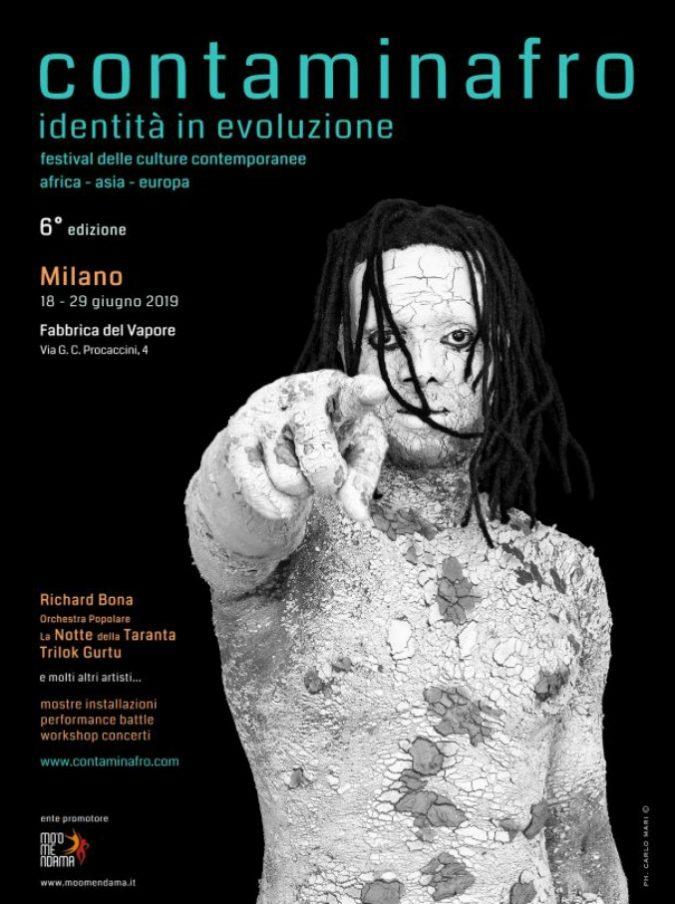 """Milano, alla fabbrica del Vapore la sesta edizione di """"Contaminafro identità in evoluzione"""", il festival delle culture contemporanee"""