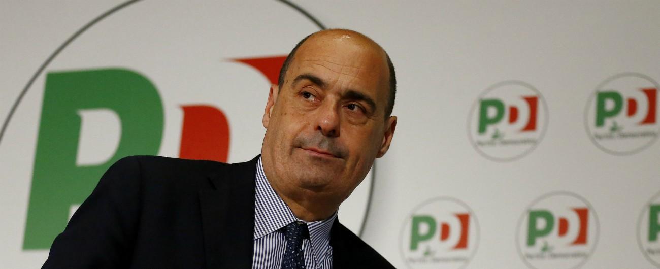 """Csm, sul caso Lotti Zingaretti continua a invocare il """"garantismo"""". M5s: """"Silenzio gravissimo e imbarazzante"""""""
