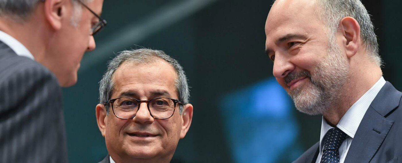 """Eurogruppo trova accordo su bilancio zona euro. Centeno: """"Italia rispetti regole. Ci affidiamo a Tria e Conte"""""""