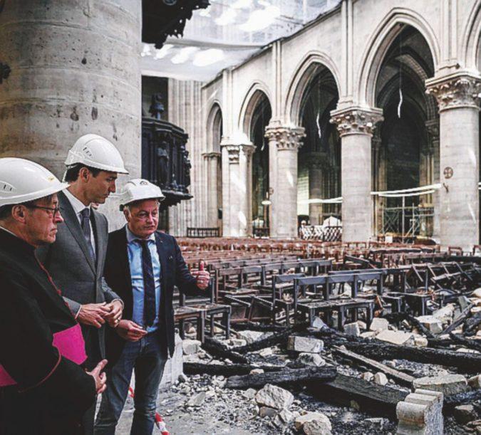 Notre-Dame: tante promesse, pochi soldi