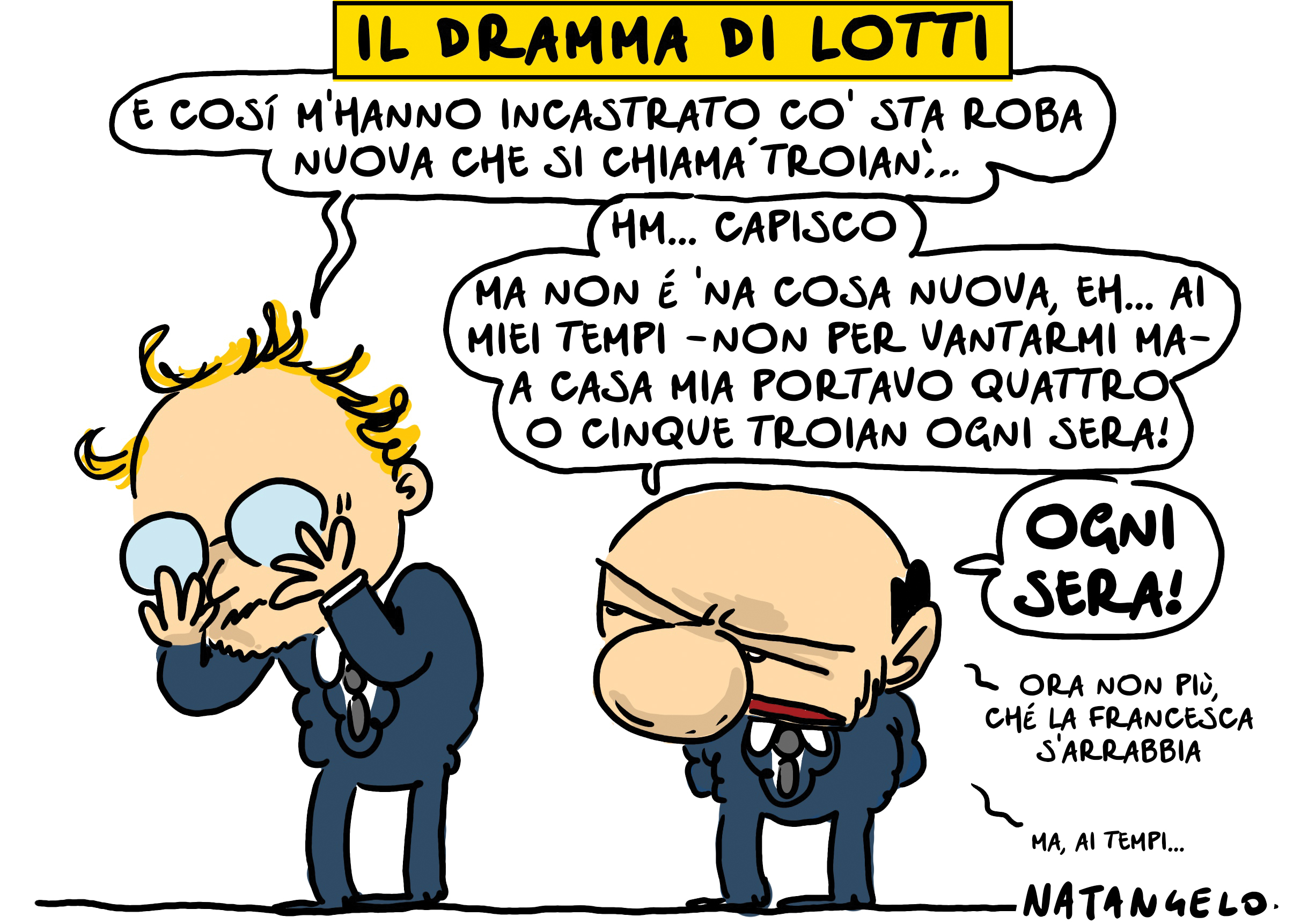 Il dramma di Lotti
