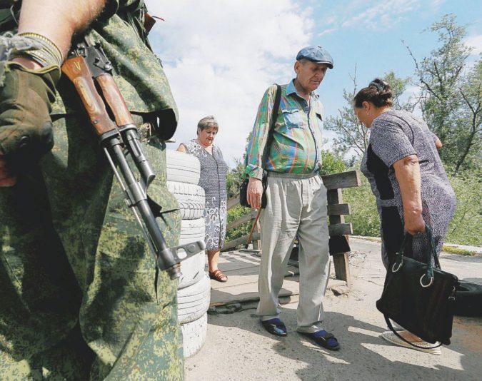 I disperati dell'Ucraina divisa
