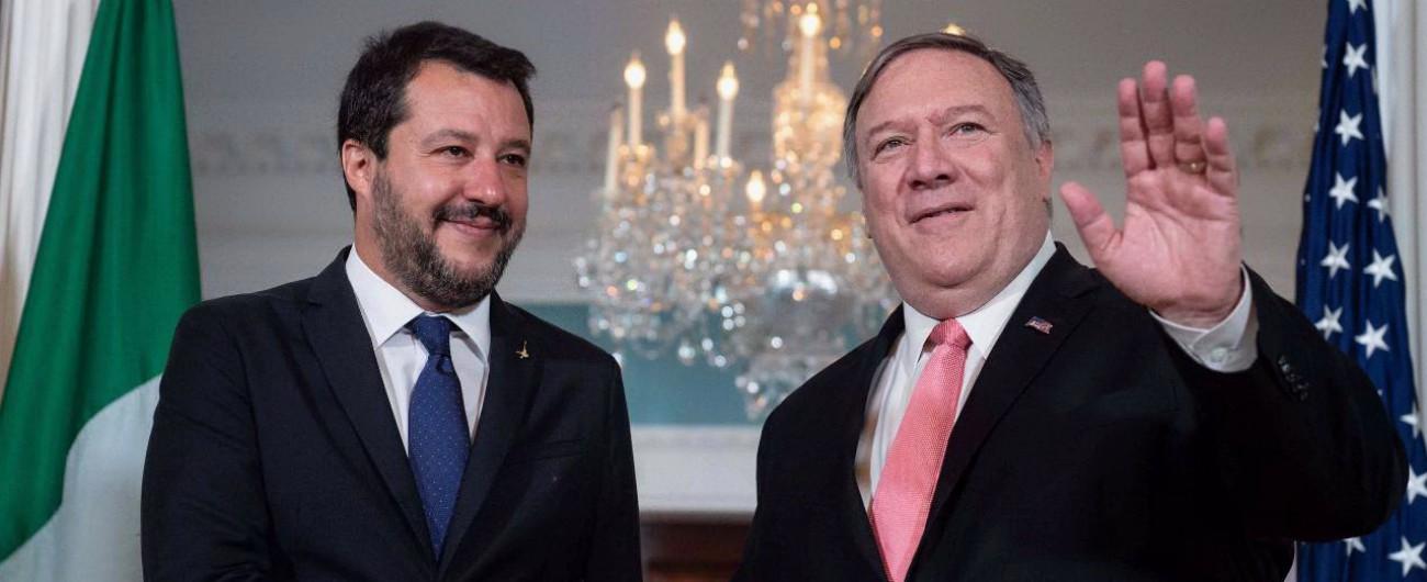 """Salvini negli Usa: """"All'Italia servirebbe una manovra trumpiana. F35? Non ci si può rimangiare gli accordi"""""""