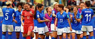Mondiali femminili di calcio, Italia-Olanda: 0-2. L'avventura delle Azzurre si conclude ai Quarti