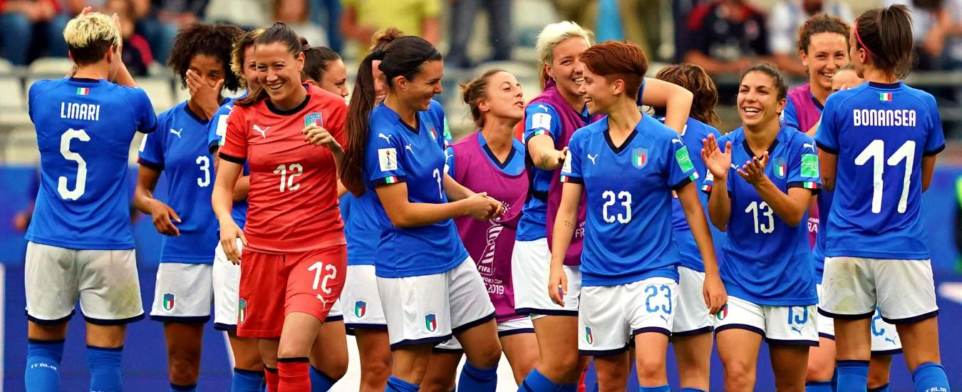 Mondiali calcio femminile, l'Italia sfida il Brasile: per la prima volta diretta su Rai 1