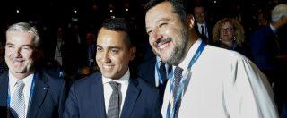"""Salvini-Di Maio, """"pace"""" in pubblico. Il leghista: """"Salari? Prima giù le tasse"""". E a Mattarella: """"Debito cresciuto per colpa Ue"""""""