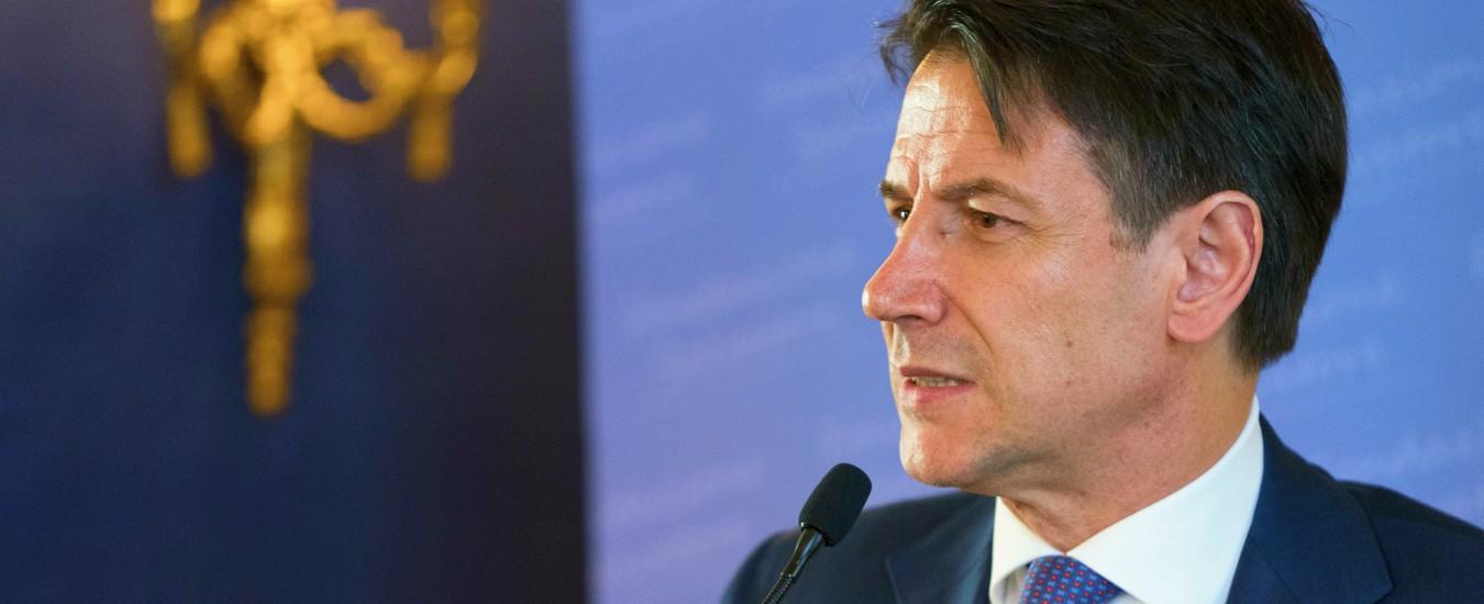 """Conte: """"Trump e Draghi? I dazi Usa ci danneggiano. Le mosse della Bce difendono imprese e cittadini"""""""