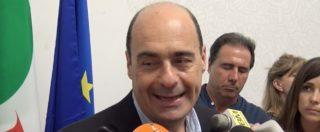 """Pd, Zingaretti: """"Giorni difficili, ma ritrovata unità. Ora al lavoro per l'alternativa contro questo governo"""""""