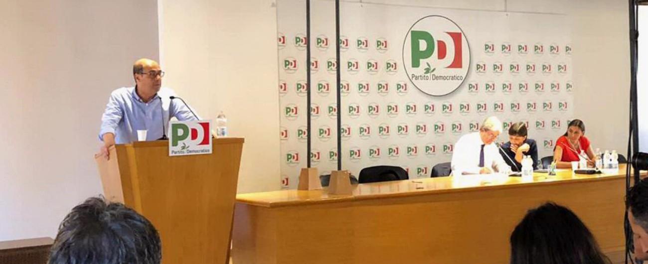 """Pd, Zingaretti: """"Ricostruire fiducia tra noi. Evitiamo i dibattiti astratti tra i dirigenti"""". Renziani: """"La segreteria non è all'altezza"""""""