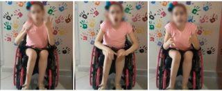 """Nola, la lezione della bambina disabile contro gli incivili: """"Esistiamo anche noi, fatevene una ragione"""""""