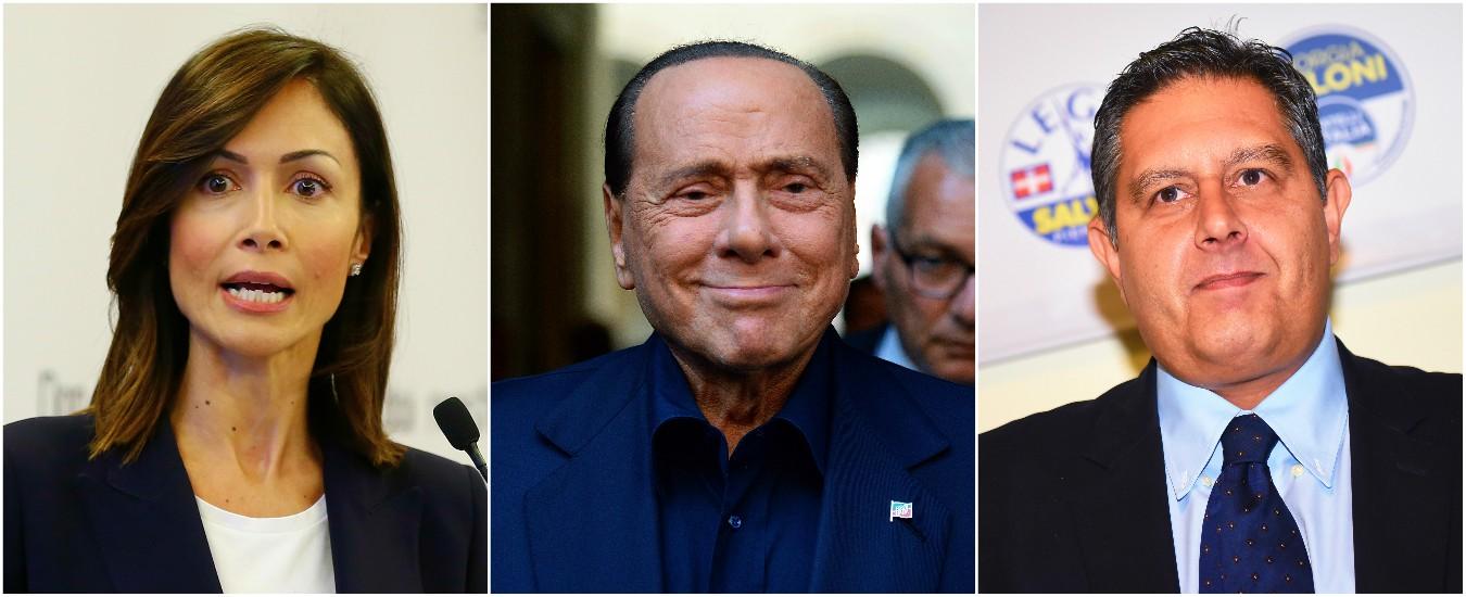 """Forza Italia, Berlusconi nomina Carfagna e Toti nuovi coordinatori. Che dice: """"La rivoluzione si fa con i contenuti"""""""