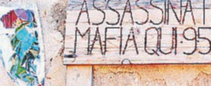 Targa per Impastato vandalizzata dopo appena 24 ore
