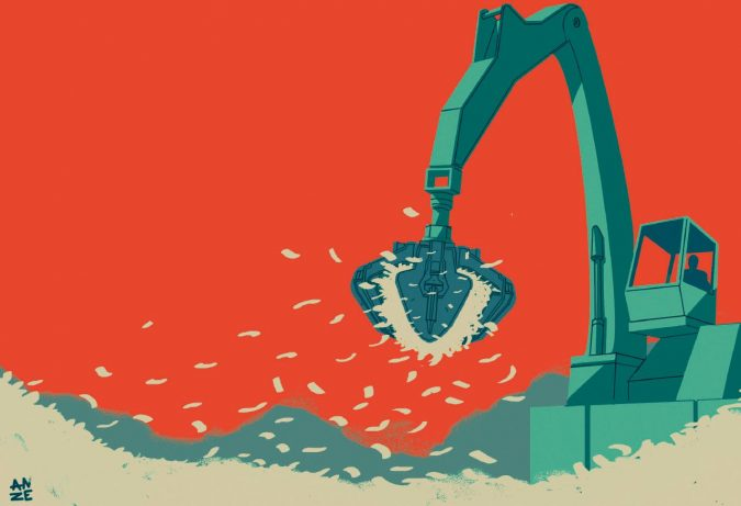 L'unica riforma fiscale: tassazione per condono