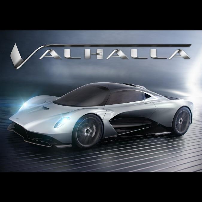 Aston Martin, la nuova hypercar si chiamerà Valhalla. E forse la userà 007