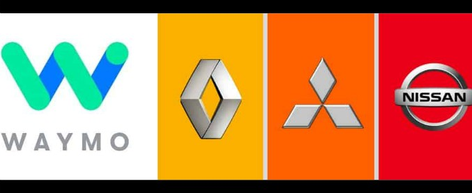 Guida autonoma, accordo Renault-Nissan e Waymo per i servizi di mobilità
