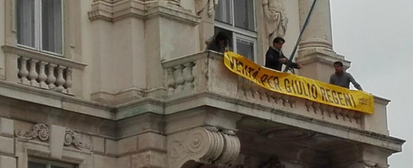 """Trieste, tolto lo striscione di Giulio Regeni dalla Regione per gli addobbi dell'under 21. Fedriga: """"Non lo rimetteremo"""""""