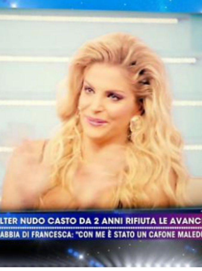 """Francesca Cipriani contro Walter Nudo: """"È gay, ha passato San Valentino in hotel con un uomo"""""""