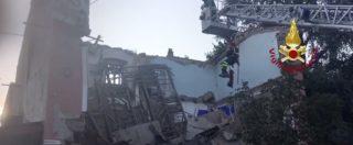 Gorizia, crolla palazzina di due piani. Esplosione dopo una fuga di gas