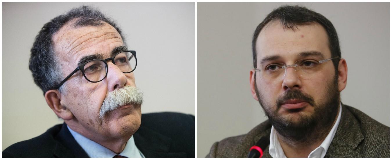"""Feltri contro Camilleri, Borrometi e Ruotolo si autosospendono dall'Ordine dei giornalisti: """"Ora basta: o noi o lui"""""""