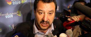 """Ue, Salvini: """"Procedura d'infrazione sarebbe attacco politico basato su antipatia, non su numeri"""""""