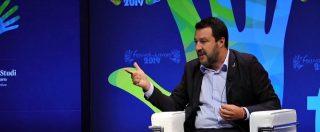 """Intercettazioni, Salvini: """"Non è civile che giornali siano pieni di pezzi senza rilevanza penale. È da quarto mondo"""""""