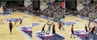 Basket, la giocata dell'anno è firmata McGee (vedere per credere). Sassari-Venezia finisce 87-77