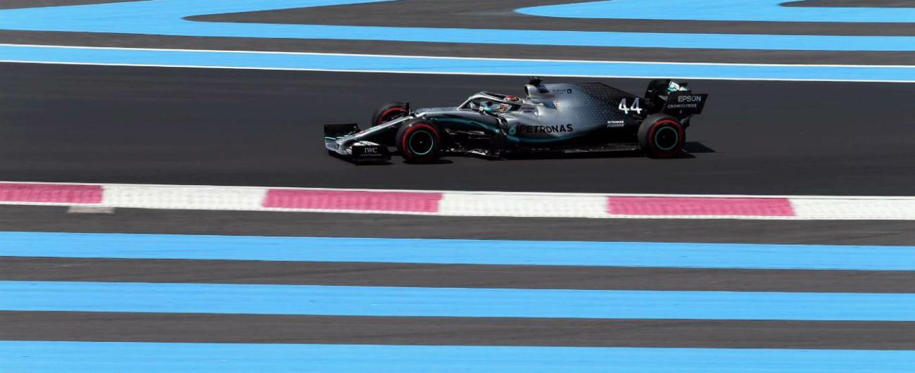 F1, solita storia nel Gp di Francia: la pole è di Hamilton, Seb Vettel molto indietro