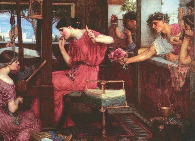Altro che Odisseo: Penelope amava Antinoo (ricambiata)