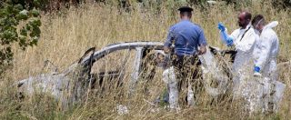 """Omicidio di Torvaianica, l'ipotesi dopo l'autopsia: """"Maria Corazza accoltellata, poi Domenico Raco si è dato fuoco"""""""