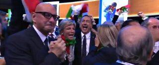 Olimpiadi invernali 2026 assegnate a Milano-Cortina, la gioia della delegazione italiana dopo l'annuncio